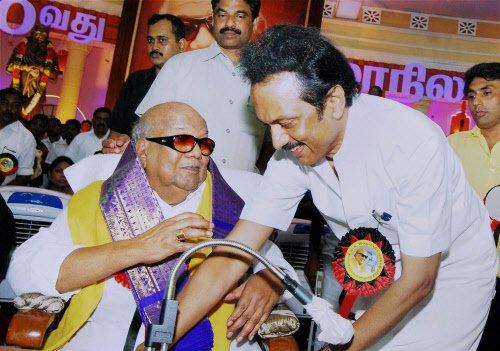DMK wants secular government at centre: Karunanidhi