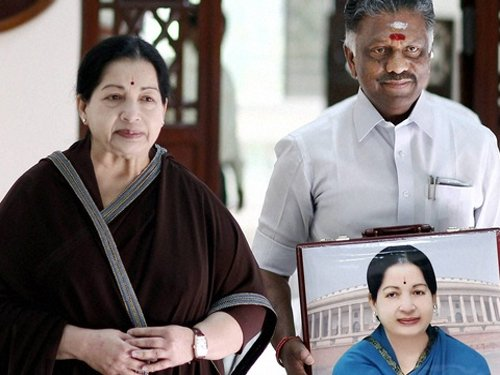Panneerselvam is the new TN Chief Minister