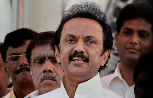 DMK leader Stalin rubbishes reports of quitting as treasurer