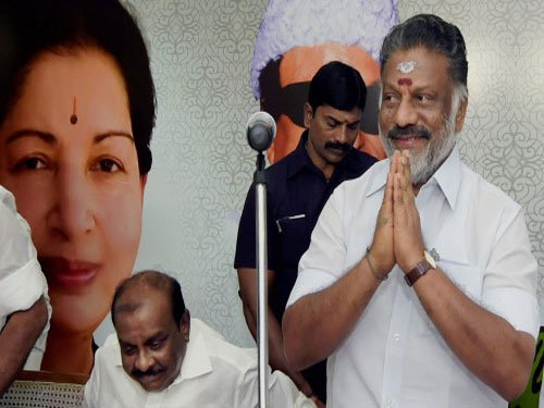 Panneerselvam again reverts to No.2 position