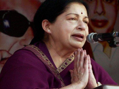 Jaya says TN verdict against DMK's family rule