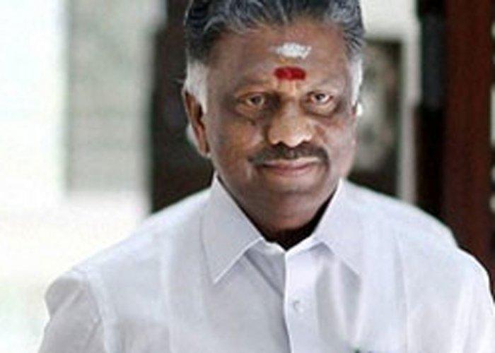 Panneerselvam thanks Prime Minister Modi, Governor for support