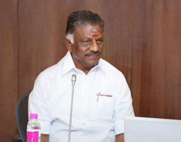 Inquiry panel will be set up to probe Jaya's death: Panneerselvam