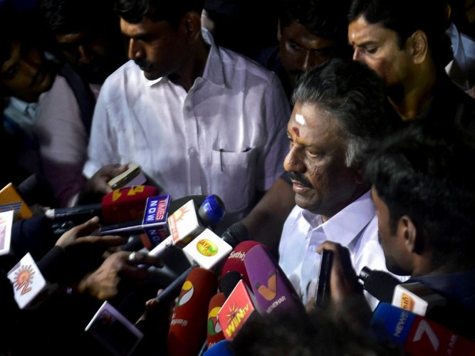 Ready to withdraw resignation, if required: Panneerselvam