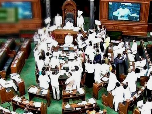 TN power struggle echoes in LS; Speaker rejects AIADMK notice
