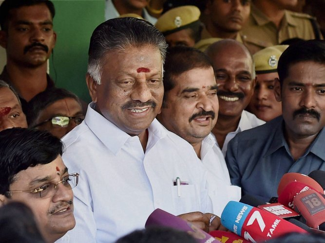 'Good things' will happen, says Panneerselvam after meeting Guv