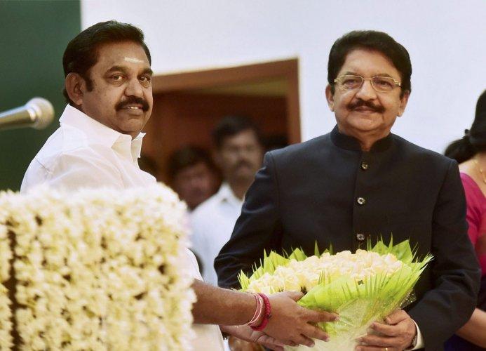 Palaniswami is TN CM, floor test on Saturday