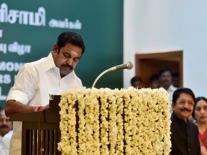 Palaniswami faces floor test today