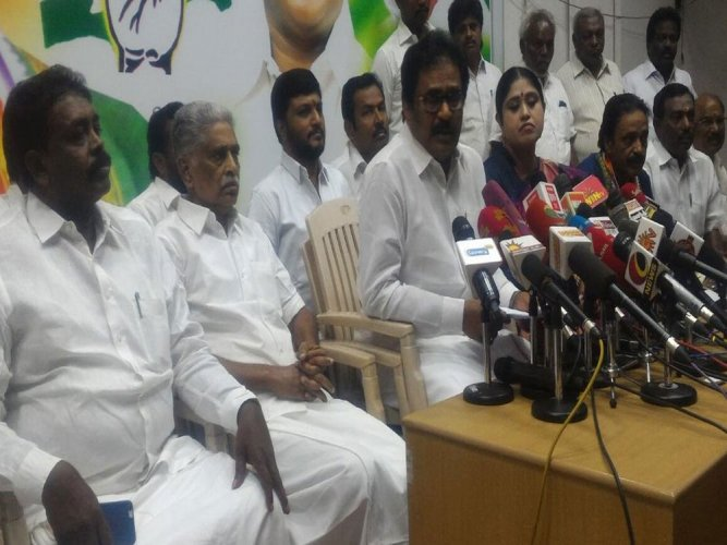 Cong to vote against Palaniswami govt: TNCC Chief