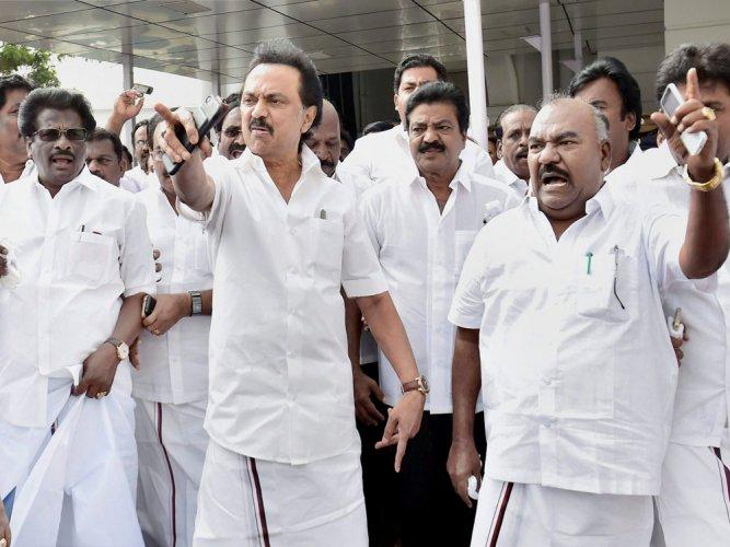 DMK challenges trust vote in HC