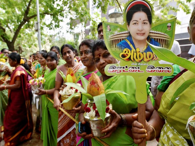 AIADMK factions using 'two leaves' symbol: EC not impressed