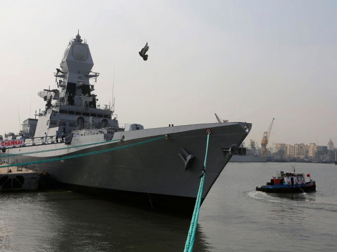Day at sea: AIADMK MLAs, ministers take ride on warship