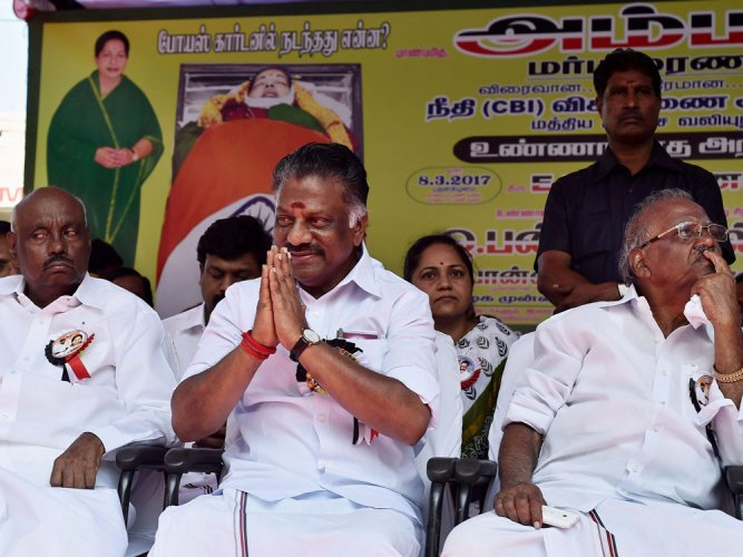 AIADMK factions form panels for merger talks