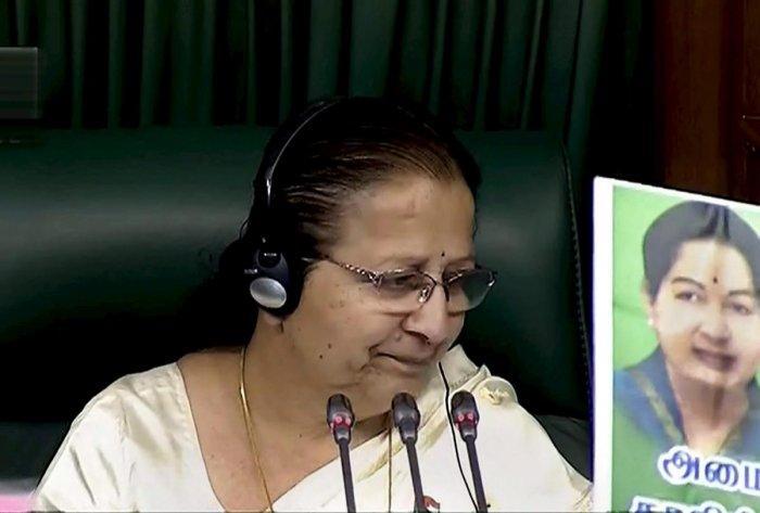 Lok Sabha adjourned till noon amid protests by AIADMK members