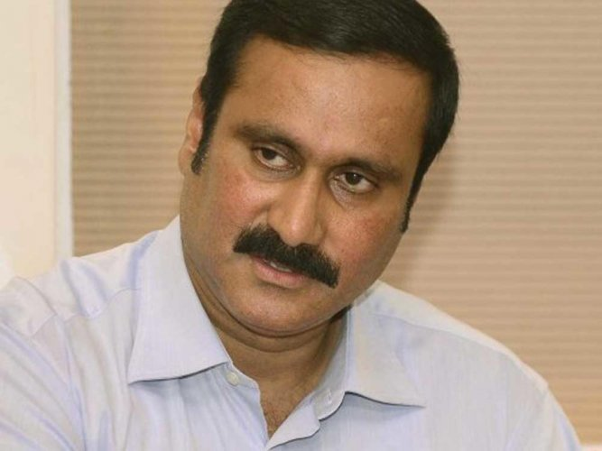 PMK MP and senior leader Anbumani Ramadoss took pains to explain the party's stand