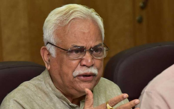 """The coalition government will consider modification of guidelines under Akrama-Sakrama scheme for properties falling within the 18-km radius of BBMP limits,"" said Revenue Minister R V Deshpande. (DH File Photo)"