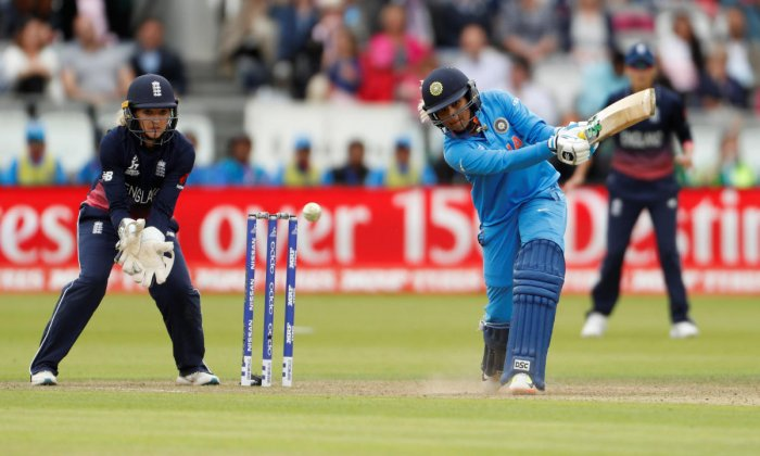 Comeback girl Veda Krishnamurthy will be looking to get among the runs in the T20I series against England. Reuters File Photo