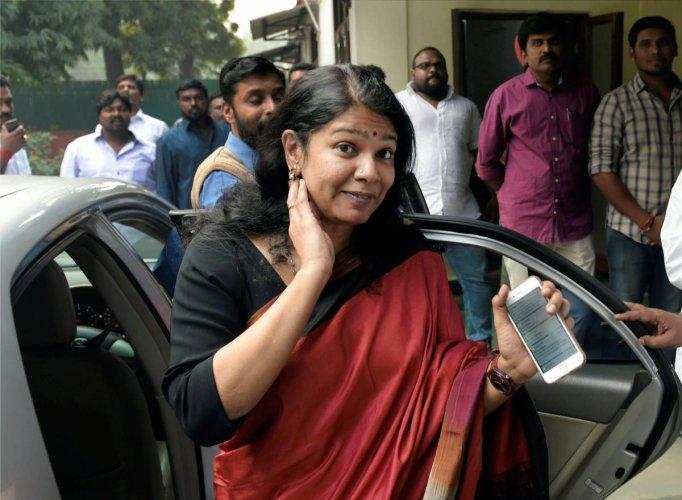 Kanimozhi seeks DMK ticket from Thoothukudi | Deccan Herald