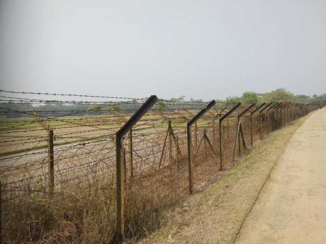 "The ""smart fencing"" will be operationalised in the 61 km riverine section of the international border in Dhubri district of Assam where the Brahmaputra river enters into Bangladesh. (DH File Photo)"