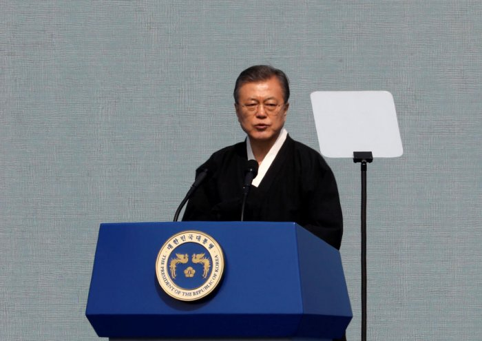 Moon, who has adopted a dovish approach to Pyongyang and brokered the US-North Korea talks process, urged his officials to find out what exactly had gone awry at the high-stakes meeting, and predicted a deal would ultimately be reached. (Reuters File Phot