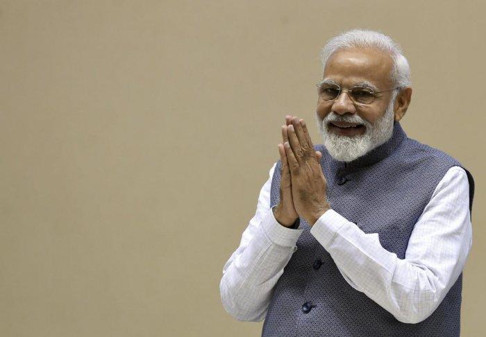 Prime Minister Narendra Modi is likely to visit the famous Ekambaranathar and Kamakshi Temple in Kancheepuram, besides the Kanchi Kamakodi Mutt. PTI file photo