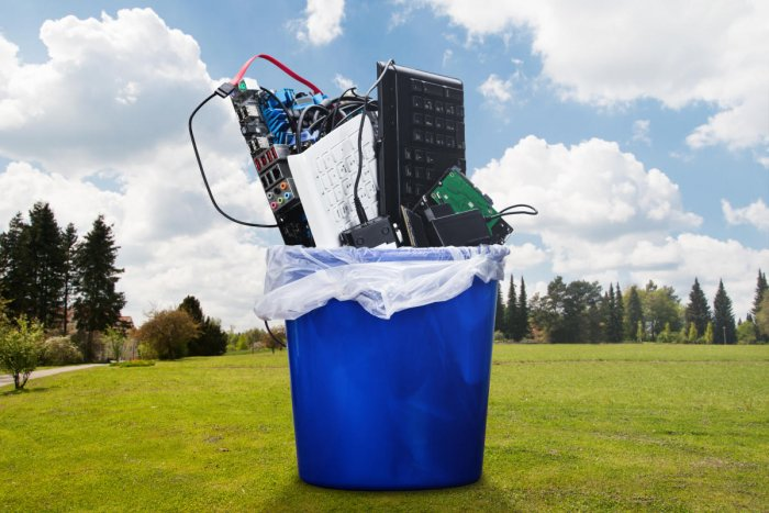 Karnataka is at present among the top 9 Indian cities in terms of generating e-waste.