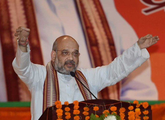 """BJP president Amit Shah on Sunday claimed that over 250 terrorists were killed in the air strike carried out by the Indian Air Force on the """"13th Day of the dastardly Pulwama terror attack."""""""