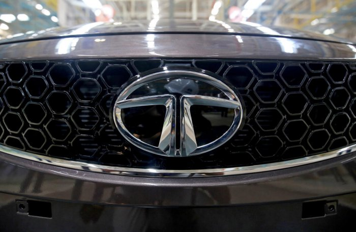 The company took curtains off an electric version of Altroz hatchback as well, which it plans to launch next year. (Reuters Photo)