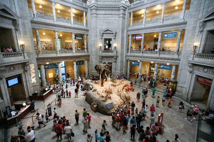 A view of the Smithsonian Museum. Wikimedia commons