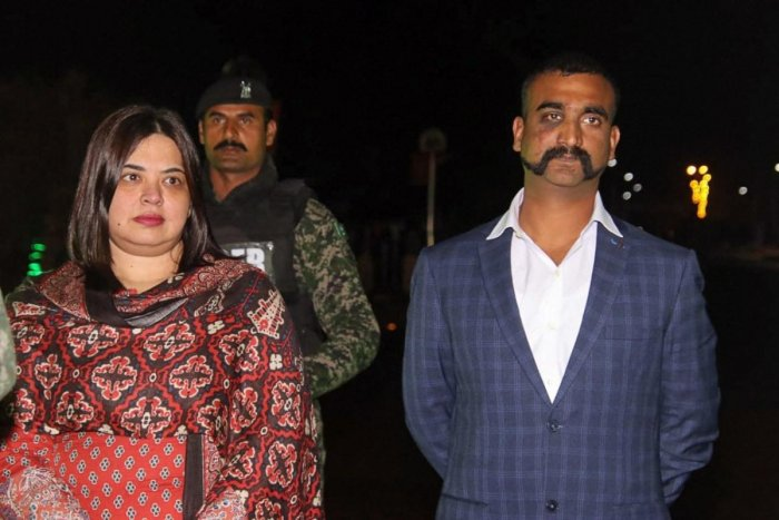 Abhinandan spent nearly 60 hours in Pakistan custody after he landed in the neighbouring country after engaging Pakistani fighter jets that violated Indian air space in Jammu and Kashmir's Poonch and Nowshera sectors. (PTI File Photo)