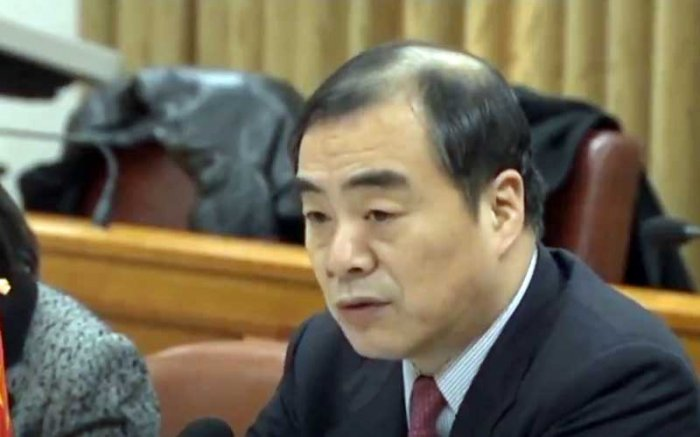 Chineese Vice Foreign Minister Kong Xuanyou. (Video grab)