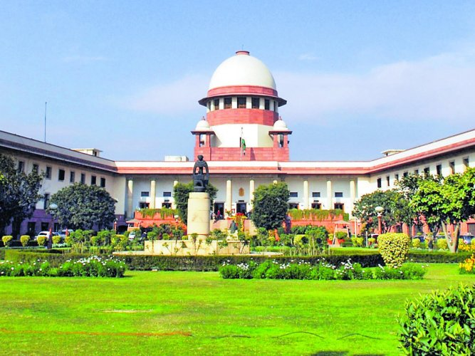 A five-judge constitution bench of the Supreme Court on Wednesday commenced hearing on the politically sensitive Ram Janmabhoomi-Babri Masjid land dispute case. File photo