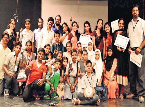 They infuse confidence in underprivileged to face the world