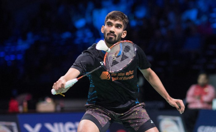 ON HIS WAY: India's Kidambi Srikanth defeated France's Brice Leverdez to enter the second round of the All England Championship. Reuters File Photo