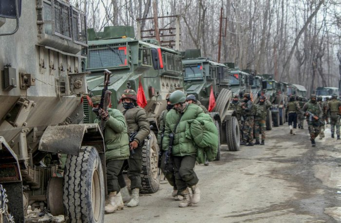 The security forces launched a cordon and search operation in the Kralgund area of Handwara in north Kashmir district late Wednesday night following information about the presence of militants in there. (PTI File Photo)