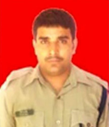 Slain CRPF jawan Tilak Raj