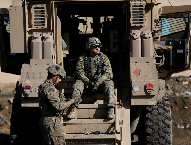 The Pentagon has not received any order from President Donald Trump to withdraw troops from war-torn Afghanistan, a top US commander said on Thursday. Reuters file photo