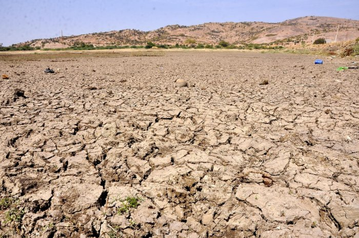 Colour-coded maps drawn based on satellite imagery coupled with ground surveys will be used as a tool for drought-proof farming. DH File Photo