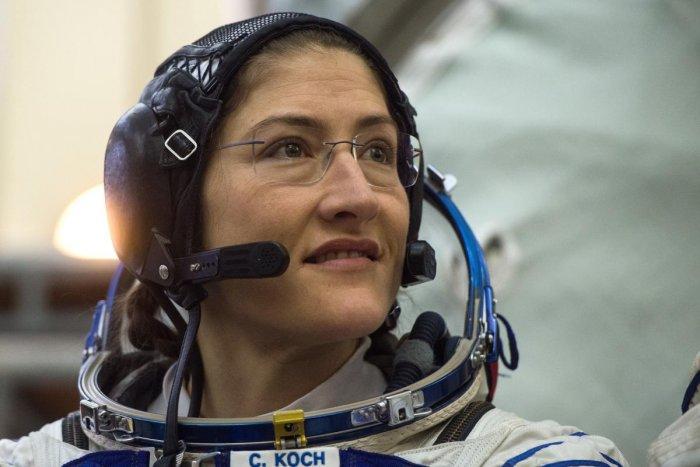 NASA astronaut Christina Hammock Koch. AFP file photo