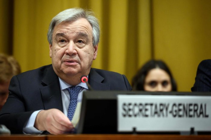 """UN chief Antonio Guterres is """"continually"""" monitoring the situation between India and Pakistan and his office is available to both parties, his spokesperson said. AFP file photo"""