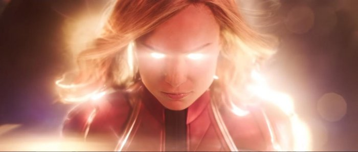 Captain Marvel is played by Brie Larson.
