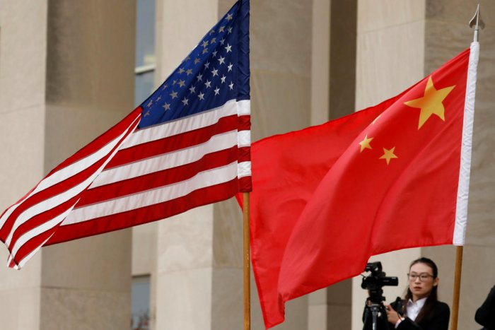 China and the United States have been locked in a bruising trade war since last year, imposing tit-for-tat tariffs on more than USD 360 billion in two-way trade, which has left global markets reeling. (Reuters File Photo)