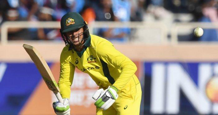 Australian opener Usman Khawaja slammed a 113-ball 104 in the third ODI against India in Ranchi on Friday. AFP