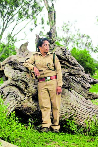 Forest Guard Netra Gowda