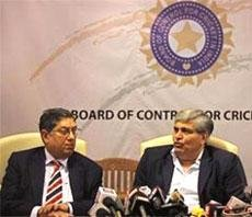 Srinivasan to take over BCCI reins from Manohar tomorrow