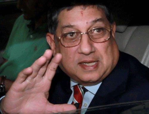 Srinivasan re-elected TNCA President for 14th successive time