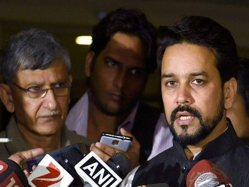 BCCI in turmoil: Names of office-bearers wiped off website