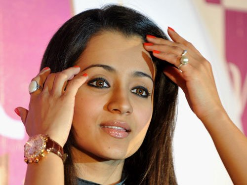 Actress Trisha in Jallikattu row, says never opposed the sport