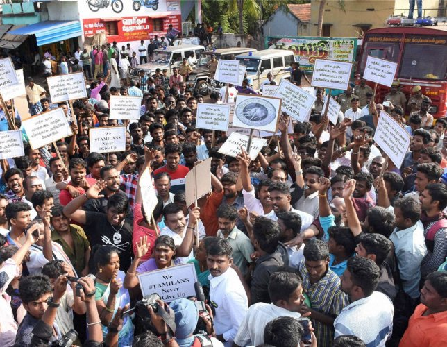 'Jallikattu' stir spreads across TN, CM to meet PM tomorrow