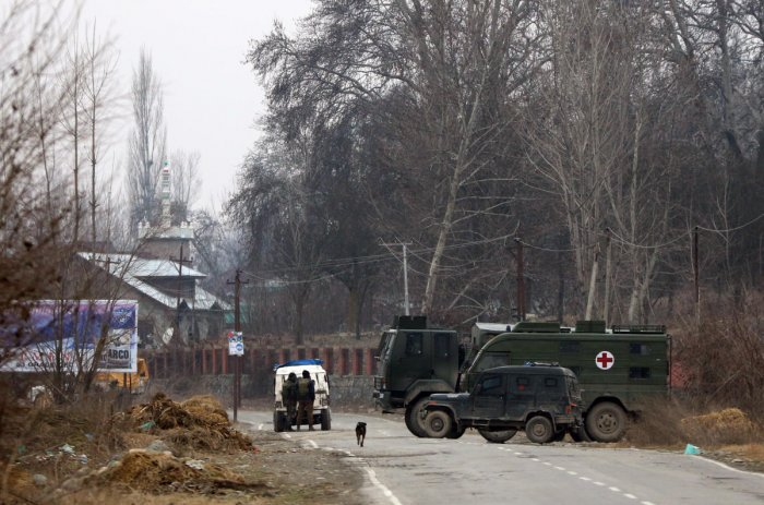 Security forces launched a cordon and search operation in Pinglish area of Tral in south Kashmir district after receiving specific intelligence input about presence of the militants in the area, a police official said. (DH File Photo)
